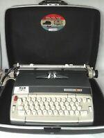 VINTAGE 1967 SMITH CORONA ELECTRA 120 ELECTRIC TYPEWRITER ORIGINAL CASE WORKS