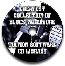 67 BLUES CHITARRA INTAVOLATURE CANTO BOOK LIBRARY SOFTWARE COLLEZIONE CD