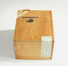 COHIBA La Habana Cuba 25 SIGLO IV Wooden Cigar Box With Labels P1