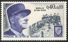 France 1970 WWII/Military/War/Army/Berlin/Armistice/Marshal Tassigny 1v (n41779)