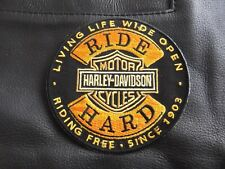 Vest Hog Harley Davidson The Best Motorcycles V twin embroidered patches