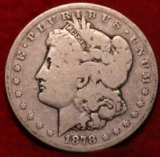1878-CC Carson City Mint Silver Morgan Dollar