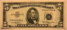 Silver Certificate - $5 - 1953 - Fr.1655 - Choice Crisp Uncirculated