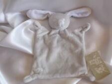 Doudou lapin beige, intérieur des oreilles blancs, étoile, Grain de blé