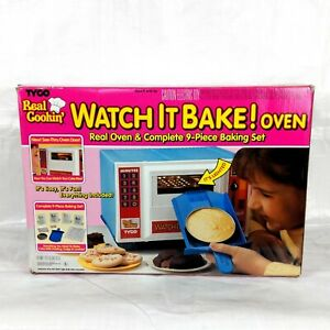 1990 Watch It Bake Oven Tyco, In Box, Vintage Kitchen Toys