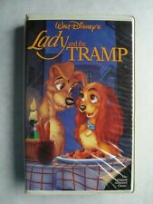 Lady And The Tramp (VHS) Disney Classics Red Signature Black Diamond [8962]