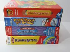Lot of 4 Learning Software for Kindergarten - 1st Grade - Complete