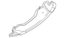 Dodge Challenger R/T SXT Bumper Lower Air Shield Deflector Splash Mopar Oem New