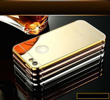 De Lujo De Aluminio Ultradelgada Espejo Metal Funda Protectora Para Apple Iphone 6s