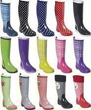 Playshoes Damen Mädchen Schuhe Regenstiefel Stiefel Gummistiefel Gr. 36 bis 42