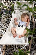 Amazonas 'Koala' portable baby hammock set with wooden stand