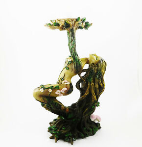 Tree Spirit Candle Holder Pagan Wiccan Woodland Figurine Statue Ornament NEW IN