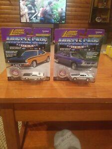 Johnny Lightning White Lightning Muscle Cars USA Cuda and Demon!!!
