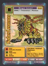 Holo - 1st Edition - Digimon - Saber Leomon - St-34-  Light Play
