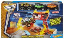 Hot Wheels Monster Jam World Finals Stunt Pack Play Set - NEW For Ages 4+