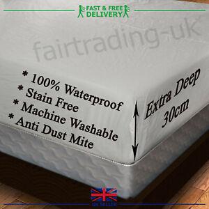 Heavy Duty Vinyl Water Proof Matress Protector Premium Quality All Matress Sizes