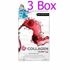 Donut Collagen 10000 mg Cherry White Supplements Skin Care Brightening 1 Box