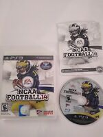 NCAA Football 14 PS3 College 2K14  2014 Playstation 3 Rare Video Game