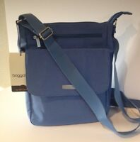 Baggallini NEW!!! TOWN BAGG Crossbody Shoulder TROPICAL BLUE Cargo Tote NWT!