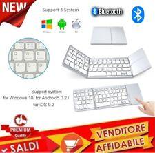 Tastiera MINI Bluetooth Pieghevole Wireless MINI iOS/Android/Windows TOUCHPAD