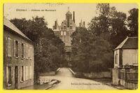 cpa FRANCE Belle Carte 51 - EPERNAY (Marne) CHÂTEAU de MONTMORT Kasteel Burg