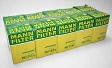 MANN-FILTER HU 713 x Ölfilter (10 Stück) für ALPINE, AUSTIN, BMW, CITROËN u.a.