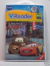 VTECH V.READER DISNEY PIXAR CARS 2 READING SYSTEM SPELLING FOREIGN LANGUAGE NEW
