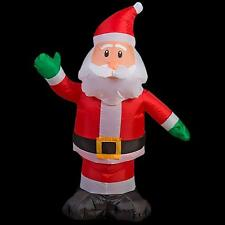 NIB 3.5' Ft Inflatable Santa Clause Airblown Lighted Indoor/ Outdoor Lawn Yard