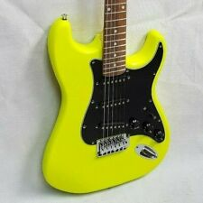 Guitarra electrica Stratocaster aliso fluorescente edicion limitada superstrat