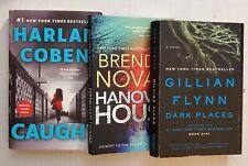 Lot 3 Novels New York Times Best Sellers Gillian Flynn Harlan Coben Brenda Novak