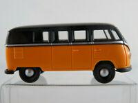 Brekina VW T1 Bus (1955) in melonengelb/schwarz 1:87/H0 NEU/unbespielt