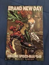 The Amazing Spider-Man #549 1st App Menace  Finch Variant [Marvel Comics]