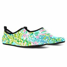 Skye Blue Heaven Lilly Pulitzer Pattern Women Aqua Barefoot Shoes