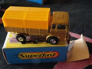 Lesney Matchbox Superfast Series No 1 Mercedes Truck  Very Good Condition