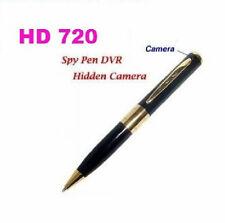 Spy Pen Camera, Micro Camera Pen Dvr, Hd 720 New