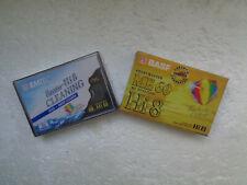 Cassette de Nettoyage Video8 & Hi8 EMTEC + K7 Vierge 60min - Neuf