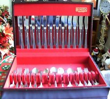 "74 Piece Oneida ""Accent"" Cutlery Set + Canteen"