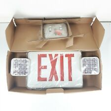 LITHONIA Lighting Contractor Select LED Exit Unit Combo ECR LED M6 Safety Light