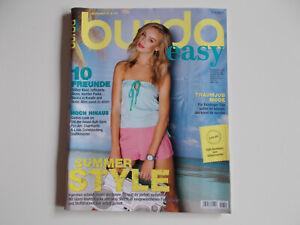 Burda easy F / S 2012 Frühjahr Sommer 2012 inkl. Schnittmuster
