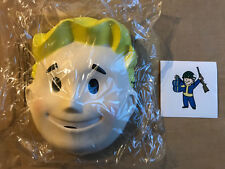 Fallout Vault-Boy Promotional Mask + Sticker PAX West 2018 Bethesda Cosplay
