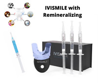 Teeth Whitening with Remineralizing Gel