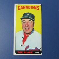TOE BLAKE  1964-65 Topps  # 43  Montreal  Canadiens  1964  1965  64-65  EX-MINT