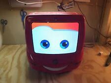 "Disney Pixar CARS 13"" TV/DVD combo unit REMOTE Control LIGHTNING McQUEEN WORKS"