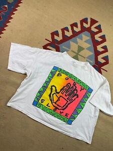 VTG 1991 Body Glove Surf Wear T Shirt Sz L Single Stitch