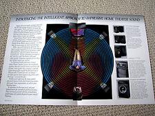 BIC Venturi series speaker brochure catalogue, #2