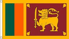 3' x 2' Sri Lanka Flag Sri Lankan National Flags Asia Asian Banner
