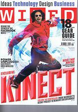 KINECT / FACEBOOK	Wired	 	 	November	2010