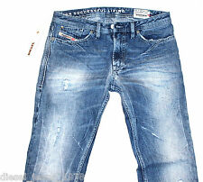 BNWT DIESEL SHIONER 74Z JEANS 28X32 100% AUTHENTIC SKINNY FIT TAPERED 0074Z