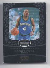 2007-2008 Topps Echelon Basketball Randy Foye Timber Wolves Base Card #391/9996
