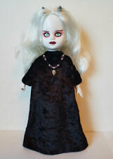 Goth Black GOWN and Skull NECKLACE  for LIVING DEAD DOLLS hm fashion NO DOLL